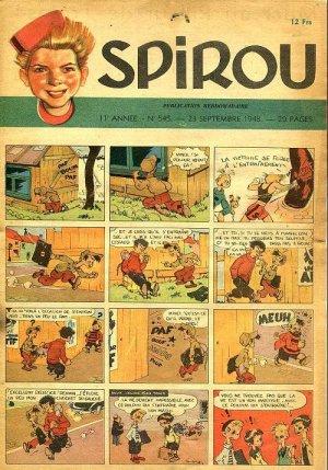 Le journal de Spirou # 545