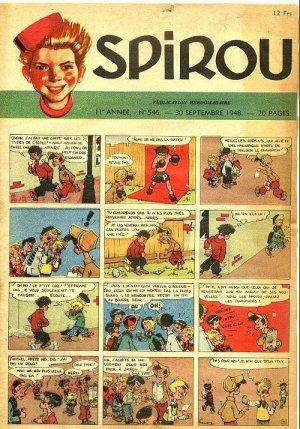 Album Spirou (recueil) # 546