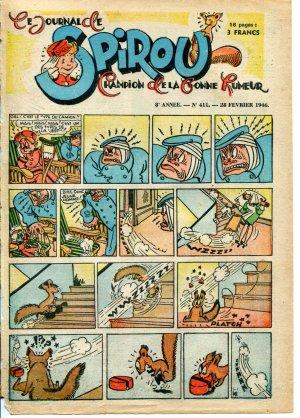 Le journal de Spirou # 411