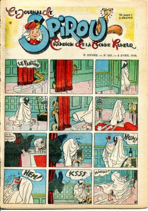 Le journal de Spirou # 416