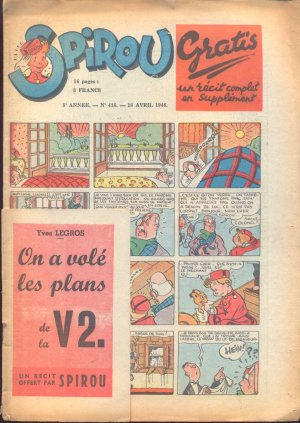 Le journal de Spirou # 418