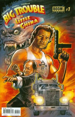 Big Trouble in Little China édition Issues (2014 - 2016)