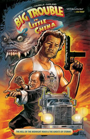 Big Trouble in Little China édition TPB softcover (souple)