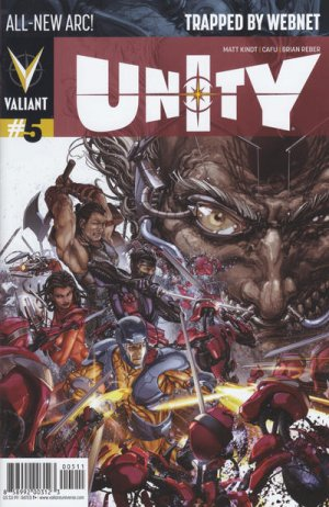 Unity # 5 Issues V2 (2014 - 2015)