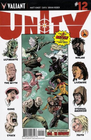 Unity # 12 Issues V2 (2014 - 2015)