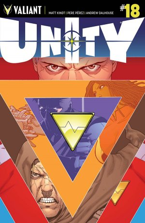 Unity # 18 Issues V2 (2014 - 2015)