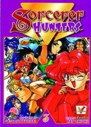couverture, jaquette Sorcerer Hunters 3