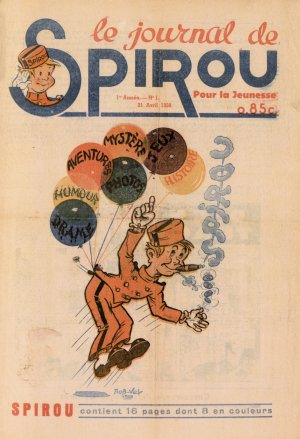 Le journal de Spirou édition Simple