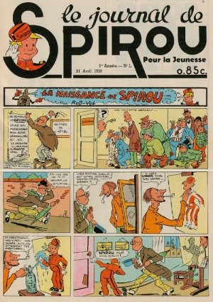 Le journal de Spirou # 1