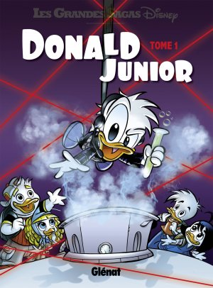 Donald Junior édition TPB hardcover (cartonnée)