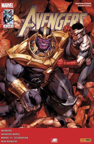 Avengers World # 26 Kiosque V4 (2013 - 2015)