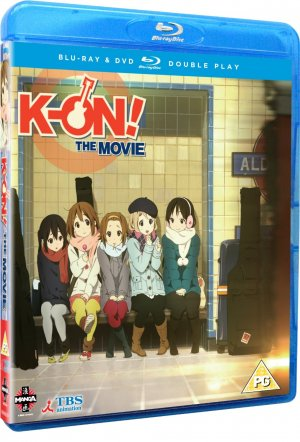 K-On! Movie édition Combo Pack BR + DVD