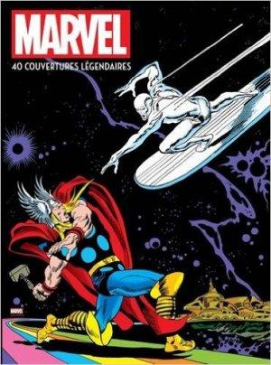 Marvel - 40 couvertures légendaires édition TPB hardcover (cartonnée)