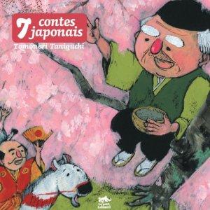 couverture, jaquette 7 Contes japonais   (le petit lézard)
