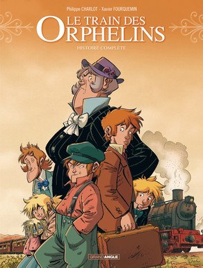 Le train des orphelins édition intégrale