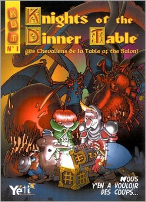 Knights of the dinner table édition TPB softcover (souple)
