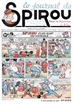 Le journal de Spirou # 25