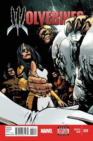 La mort de Wolverine - Wolverines # 20 Issues V1 (2015)