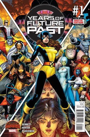 Years of Future Past # 1 Issues (2015)
