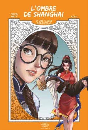 couverture, jaquette L'ombre de Shanghai 3  (Editions Fei)
