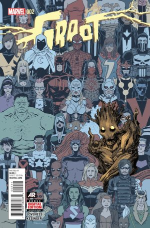 Groot # 2 Issues V1 (2015)