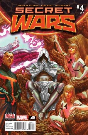 Secret Wars # 4 Issues V1 (2015 - 2016)