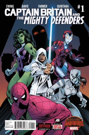 Captain Britain and the Mighty Defenders édition Issues V1 (2015)