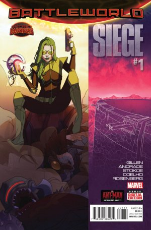 Siege # 1 Issues V2 (2015)