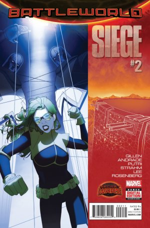 Siege # 2 Issues V2 (2015)