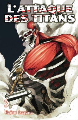 couverture, jaquette L'Attaque des Titans 2 Double (France loisirs manga)