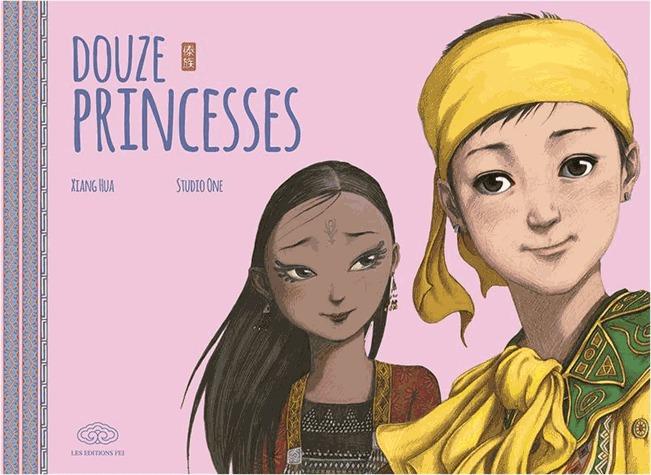 couverture, jaquette Douze princesses   (Editions Fei) Livre illustré