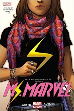 Ms. Marvel # 1 TPB Hardcover Oversize - Issues V3 (2015)