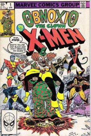 Obnoxio the Clown vs. The X-Men édition Issues