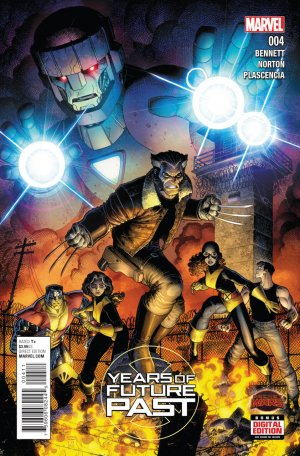 Years of Future Past # 4 Issues (2015)