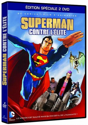 Superman contre l'élite édition Edition spéciale 2 dvd