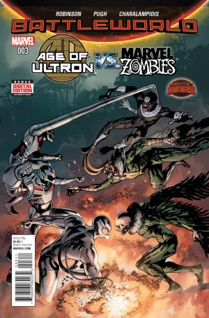 Age of Ultron vs. Marvel Zombies # 3 Issues V1 (2015)