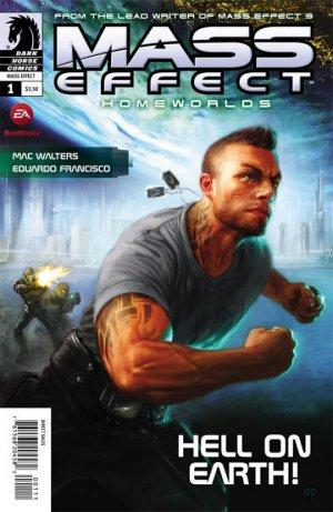 Mass Effect - Homeworlds édition Issues