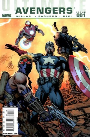 Ultimate Avengers édition Issues V1 (2009 - 2010)