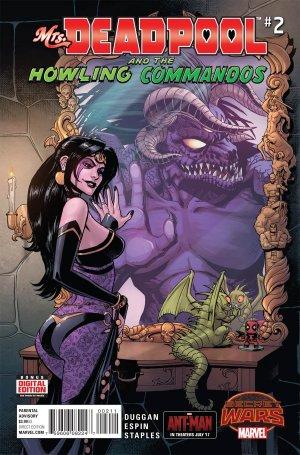 Mme Deadpool et Les Howling Commandos # 2 Issues (2015)