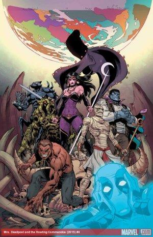 Mme Deadpool et Les Howling Commandos # 4 Issues (2015)