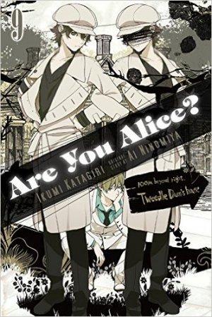 couverture, jaquette Are You Alice? 9 Américaine (Yen Press)