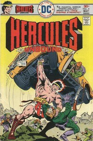 Hercules Unbound # 4 Issues