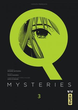 couverture, jaquette Q mysteries 3  (kana) Manga