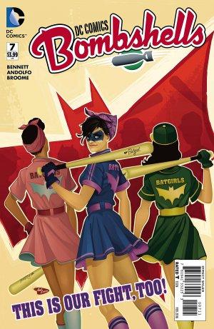 DC Comics Bombshells # 7 Issues