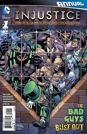 Injustice - Gods Among Us Year Four édition Issues - Annuals (2015)