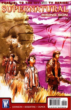 Supernatural - Rising Son # 5 Issues (2008)
