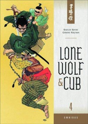 couverture, jaquette Lone Wolf & Cub 4 Omnibus (Dark Horse - Manga)
