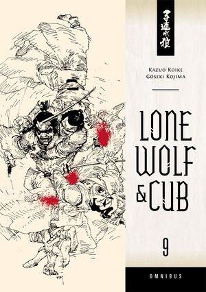 couverture, jaquette Lone Wolf & Cub 9 Omnibus (Dark Horse - Manga)