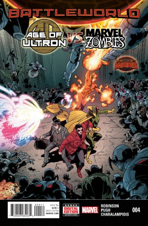 Age of Ultron vs. Marvel Zombies # 4 Issues V1 (2015)