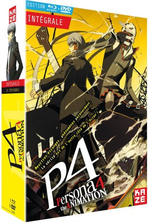Persona 4: The Animation édition Intégrale - Coffret combo Blu-Ray + DVD